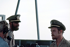LT Merten (left) and LTJG Meirs (right)