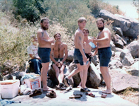Photos by Mark Hilditch - Black Canyon Crossing with Straw, Glenn, Shorty, and Paul