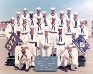 Navy Training in San Diego - Graduation Petty Officers