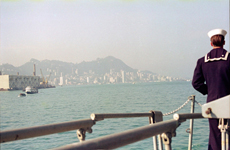 Arriving in Hong Kong for liberty