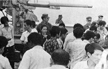 USS Thomaston History: 1975 Vietnam Evacuation