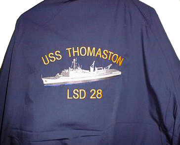 LSD-28 Jacket Back with Embroidered Logo