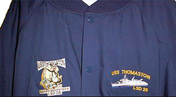 LSD-28 Jacket Front - Embroidered Logo and Thomaston