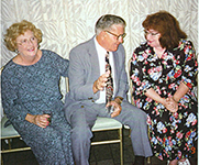 Jim and Benita Brice with Margie Bowes