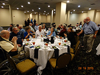 2015 Reunion Dinner - Photo by Larry Conner