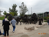 2015 Reunion Omaha Sculpture Park Tour - Photo by Larry Conner